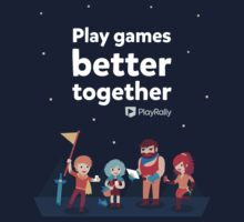Play Games Better Together - Yellow Team by playrally