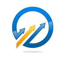 circle-arrow-logo by mydigitall