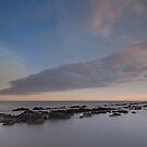 Eastbourne sunset by Rachael Talibart