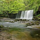Upper Gushing Falls, Brecon Beacons by Rachael Talibart