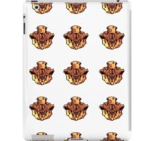 Pattern-Bone Bear Skull iPad Case/Skin