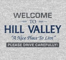 Welcome To Hill Valley Kids Clothes