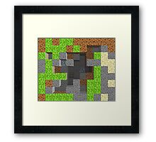 Pixel Mining Play Area 1 Framed Print