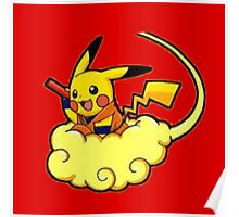 Pikachu is Flying Poster
