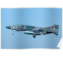 Phantom FGR.2 XV429/K with RAT deployed Poster