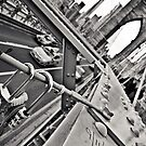 Brooklyn Bridge Lockers by Vincent Riedweg