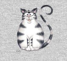 Kazart Fat Cat Tee by Karen Sagovac
