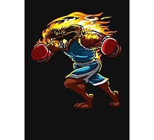 A Balrog cosplays as Balrog Photographic Print