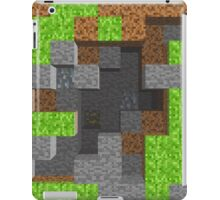 Pixel Mining Play Area 1 iPad Case/Skin