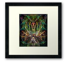 Color in Your Hands - the Luminarian (Art & Poetry) Framed Print