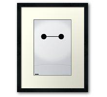 Minimalist Big Hero 6 Framed Print