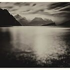 Lake Garda - View from Malcesine to Monte Brione by Ronny Falkenstein