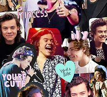 HARRY STYLES COLLAGE by karefulkreation