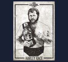 Harley Race NWA Champ by BertsShirts