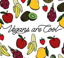 VEGANS ARE COOL - White Fruit Salad  by tosojourn