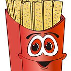 French Fry Cartoon by Graphxpro