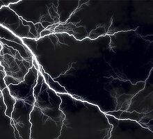 Black Lightning  by NancyAnnDesign