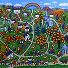 Kington Parva - Somewhere Over the Rainbow by JayteesArt