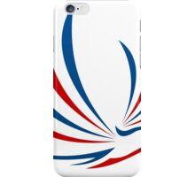 eagle-bird-abstract-logo iPhone Case/Skin