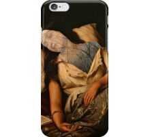she dreams in forests iPhone Case/Skin