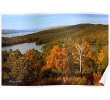 An Autumn View of the Quabbin Poster