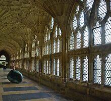 Abbey of Gloucester - England by Arie Koene