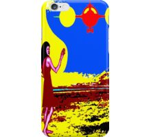 COMING INTO LAND iPhone Case/Skin