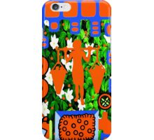 HARVEST @ THE ORANGE GROVE iPhone Case/Skin