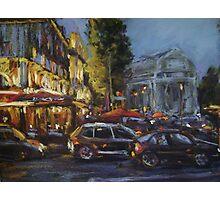 Paris after dark Photographic Print