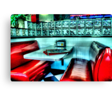 Route 66 Diner Canvas Print