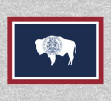 US State- Wyoming Flag by cadellin