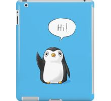 Hi Penguin iPad Case/Skin