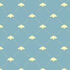 Vintage bird pattern by Richard Laschon