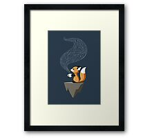 Fox Tea Framed Print