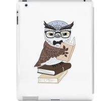 Professor Owl iPad Case/Skin