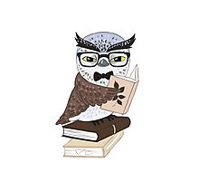 Professor Owl Photographic Print