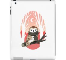 Winter Owl iPad Case/Skin