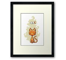 Ginger Cat Framed Print