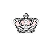 Crown - Pink Photographic Print