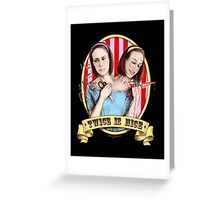 Bette & Dot (color) Greeting Card
