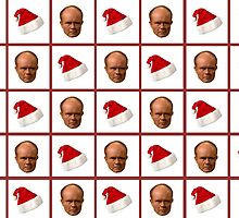 Red forman christmas hat by michaelcera