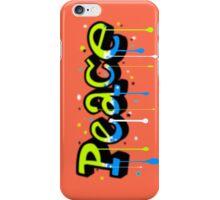 Peace Graffiti iPhone Case/Skin