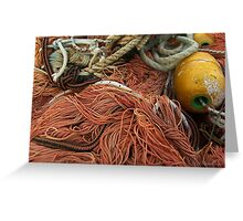 The wild and magic beauty of fishing nets ~ 03 Greeting Card