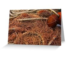 The wild and magic beauty of fishing nets ~ 14 Greeting Card