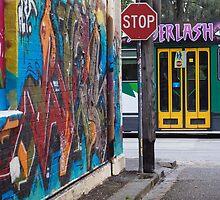 Melbourne Grafiti by Tori Haeusler