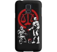 Law Enforcement in Dystopia Samsung Galaxy Case/Skin