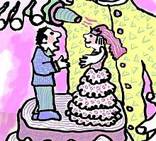wedding cake goes live....... (©k.denmark) by Kay Denmark