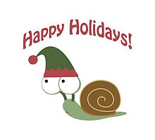 Happy Holidays! Snail by Eggtooth