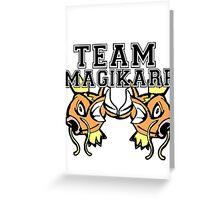 Team Magikarp Greeting Card