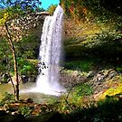 Under Noccalula Falls by Charldia